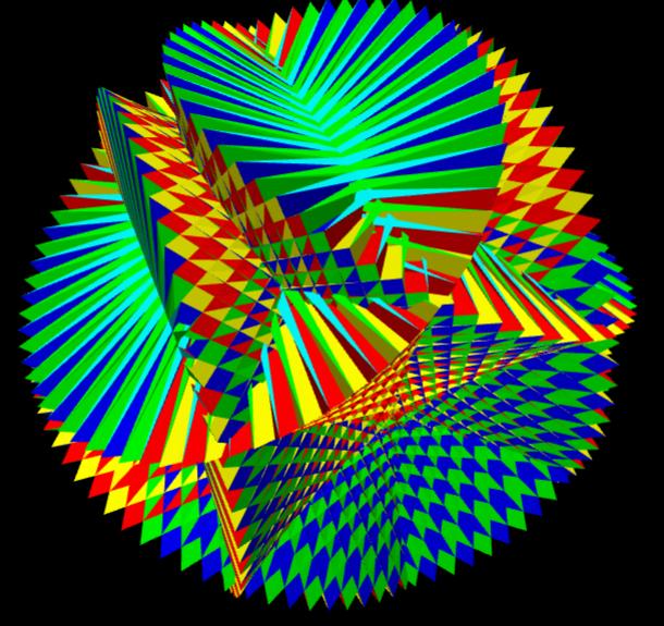 Drawing Uniform Polyhedra with Javascript, WebGL and Three